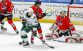 Franson, Delia Lead IceHogs to 3-2 Victory over Wild