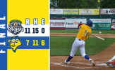Cougars Rally for Six in Ninth to Down Canaries