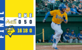 Etheridge, Canaries Batter Apollos in Shutout Victory