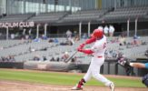Big Innings Batter Dogs in RedHawks 17-5 Victory