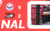 Adams Homers Twice to Lead Dogs to Opening Game Win