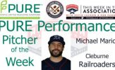 Cleburne Railroaders Michael Mariot Named PURE Performance Pitcher of the Week