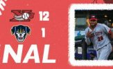 Explorers Batter Saltdogs on Way to Fifth Straight Victory