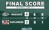 Van Marter Homer Propels RailCats to Series Victory