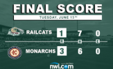 Alkire Sharp But Offense Fails Him in Loss to Monarchs