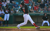 Pina Drives in Five to Power RedHawks Over Canaries