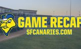 Canaries Swept by Monarchs in Double-Header