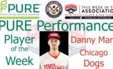 Chicago Dogs OF Danny Mars Named PURE Performance Player of the Week