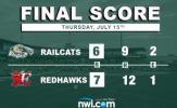 RailCats Comeback Falls Short in Fargo