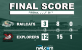 RailCats Doomed by Two Big Frames