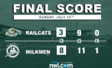 Six-Run Frame Too Much for RailCats to Overcome