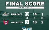 Alkire, RailCats Bats Help Team Avoid Sweep