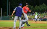 Hernandez Homers Twice in Railroaders Series Opening Victory