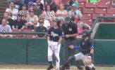 Baez Career Game Helps Cougars Complete Sweep