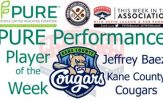 Kane County OF Jeffrey Baez Named PURE Performance Player of the Week