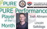 Josh Altmann - Pure Performance Player of the Month