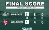 RailCats Bullpen Dominates in Series Opening Victory