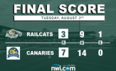 Canaries Even Series with Victory over RailCats