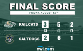 RailCats Pitchers Star in Nail-Biter