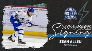 Sean Allen Re-Signs, Bolstering