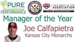 Kansas City Monarchs Joe Calfapietra