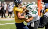 Crutcher, Muskies Defense Smothers Green Knights in 40-8 Victory