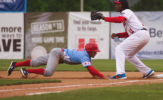 Kipper Grounds RedHawks as Dogs Even Series